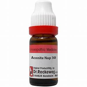 Buy Dr  Reckeweg Aconite Napellus Dilutions Online