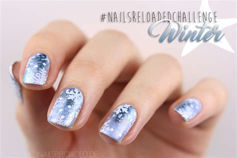 nageldesign winter 2017 nails reloaded nailsreloaded challenge nageldesign winter