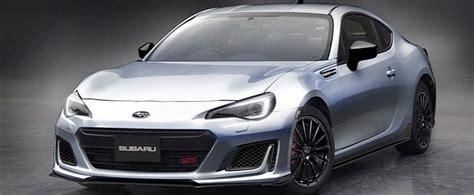 Subaru Brz Sti Sport Concept Headlines Tokyo Auto Salon
