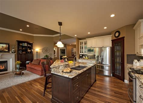 Ideas For Kitchen And Family Room by Another Kitchen Family Room Combo Kitchen Ideas