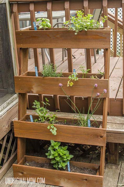 diy window box herb garden herbs garden space saver and