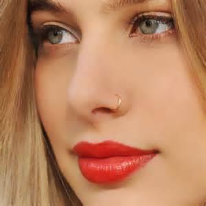 tiny gold stud earrings trendy gold hoop nose piercing rings trends4us