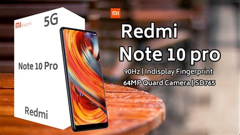 Expected price of xiaomi redmi note 10 pro in india is rs. Redmi Note 10 Pro - 5G, EveryThing You Need To Know ...
