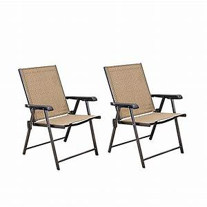 hawthorne folding sling chairs set of 2 bed bath beyond With bed bath and beyond outdoor furniture sale