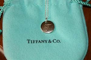 new box tiffany co notes quottquot alphabet disc charm pendant With tiffany and co letter charm