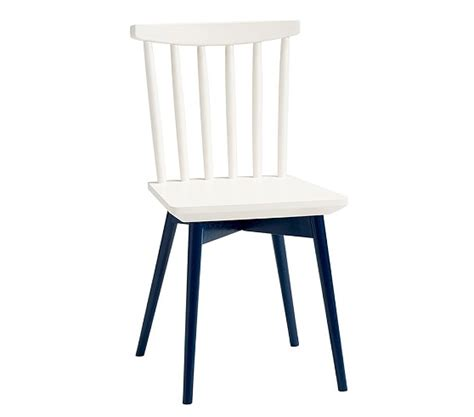 spindle play chairs navy pottery barn