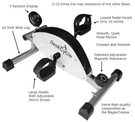 pedal exerciser desk deskcycle desk exercise bike pedal exerciser healthy
