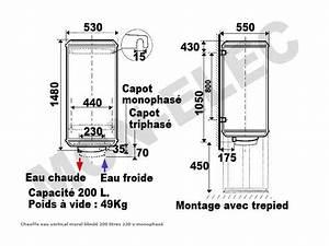 Chauffe Eau Atlantic 200l : chauffe eau electrique 200l dimension quebec ~ Nature-et-papiers.com Idées de Décoration