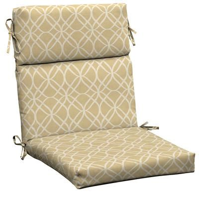 hton bay roux sandollar high back chair cushion home