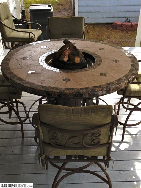 pit table grill armslist for trade 5 custom pub height patio