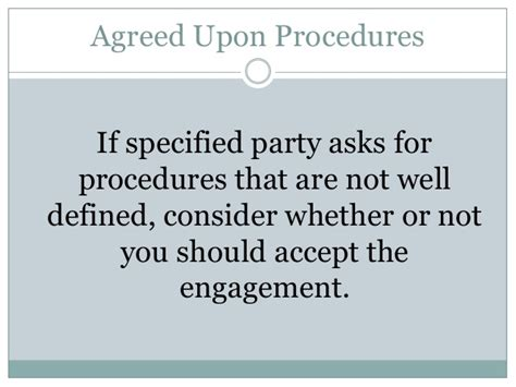 Agreed Upon Procedures Report Template by Agreed Upon Procedures Engagement Letter Agreed Upon