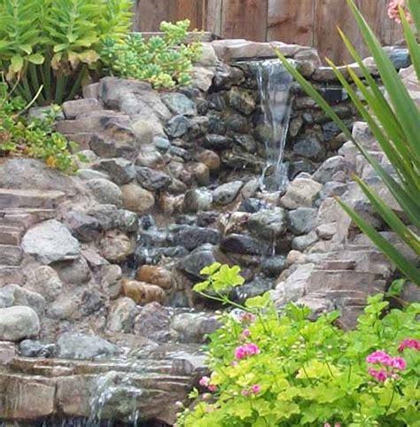 concrete waterfalls design waterbug design