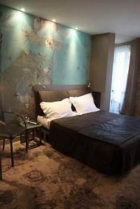 deco chambre taupe et bleu exemples d39amenagements With chambre bleu et taupe