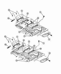 Dodge Dakota Adjuster  Manual Seat  Trim   Cloth Seat