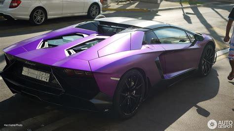 lamborghini dark purple matte purple lamborghini aventador lp 700 4 50th roadster