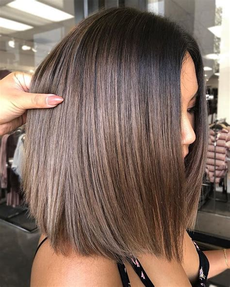 trendy ombre  balayage hairstyles  shoulder