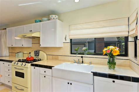 yellow tiles kitchen photo page hgtv 1224
