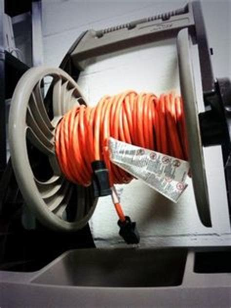 diy extension cord reel outdoors pinterest cord