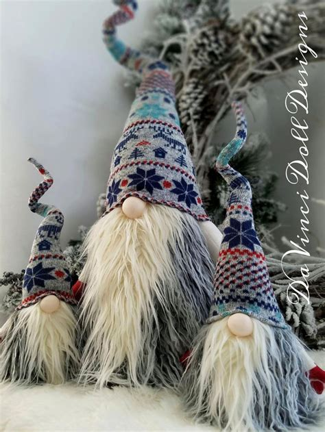 nordic gnome scandinavian gnome tomte nisse santa elf