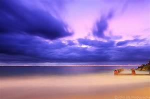 Purple Beach Sunrise | Desktop Backgrounds for Free HD ...