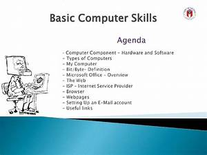 basic computer skills With basic skills