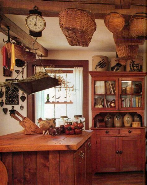 Primitive Kitchen Decor - 253 best houses cabins inside and outside images on