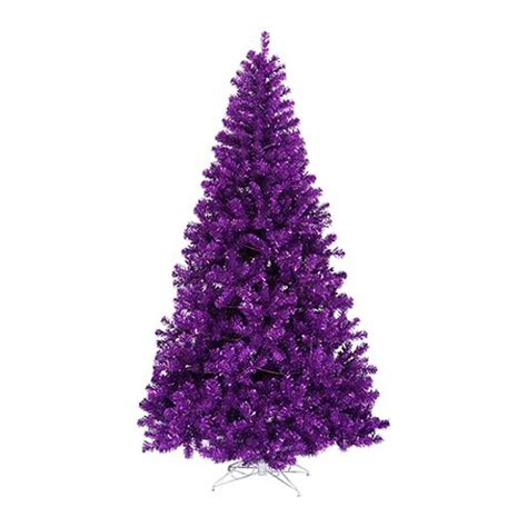 northlight pre lit artificial purple christmas tree atg