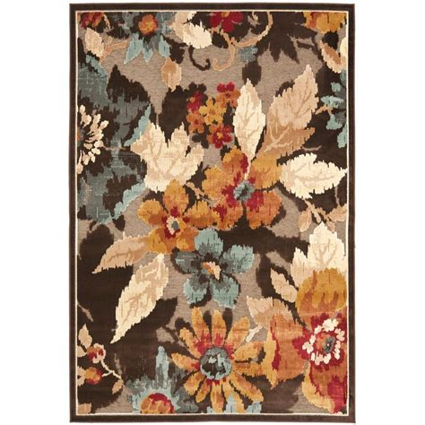 4163 patterned bath rugs safavieh paradise brown 5 ft 3 in x 7 ft 6 in