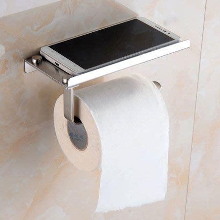 toilet roll holder  mobile phone shelf toilet roll