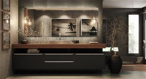 40 Modern Bathroom Vanities That Overflow