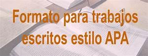 Herramientas De Aula  Normas Apa Para Presentaci U00f3n De