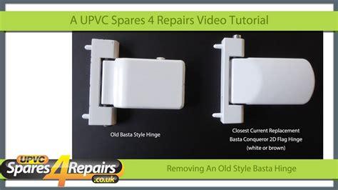 removing   style basta upvc door hinge youtube
