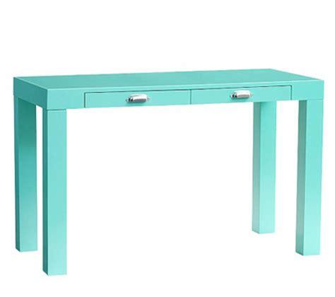 parsons mini desk aqua everything turquoise daily turquoise shopping