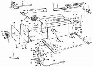 Craftsman Model 113226670 Saw Genuine Parts