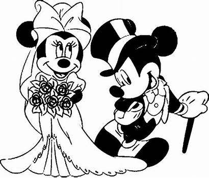 Mouse Mickey Minnie Coloring Pages Eating Ice