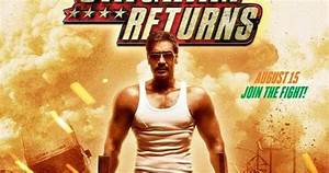 Ajay Devgan's Singham Returns First Look Poster ...
