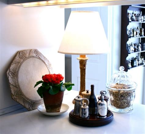 ideas  small kitchen countertop lamps home decorating tips
