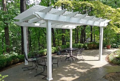 Free Standing Vinyl Patio Cover Kits by Wood Pergola Kits Prices Lzk Gallery