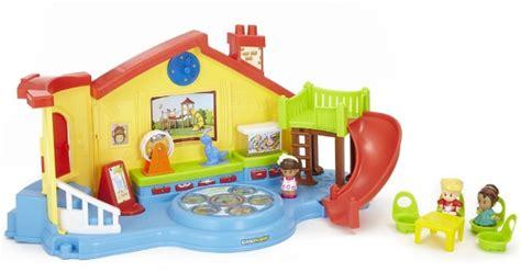 preschool playsets fisher price place musical preschool playset 133