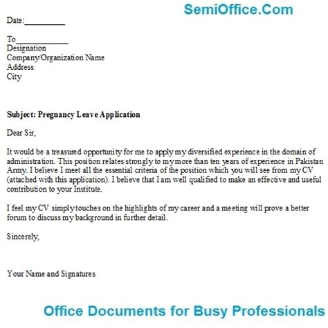 Job Application For The Position Of Manager Administration
