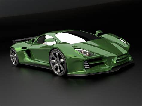 3d Modeling Supercar Concepts