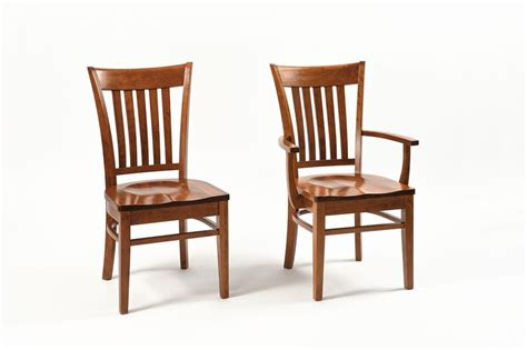 amish contemporary shaker dining room chair