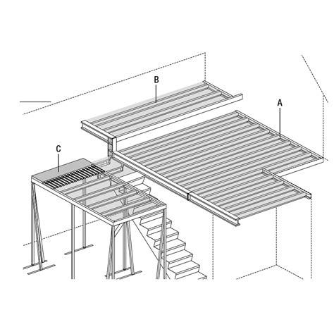 bureau mezzanine tutoriel comment poser un plancher collaborant