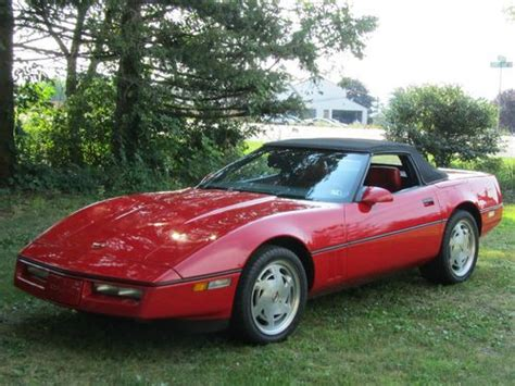 Find Used 1989 Chevrolet Corvette Convertible 2-door 5.7l