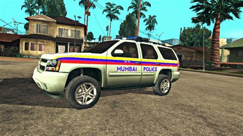 indian police jeep gta san andreas mumbai police jeep indian police car mod
