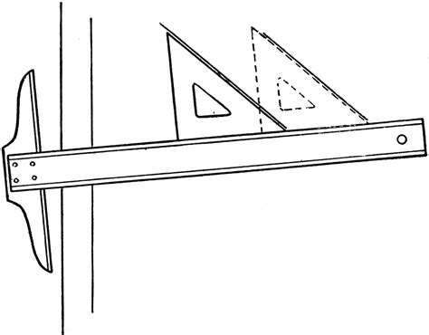 drawing parallel lines   square  triangle