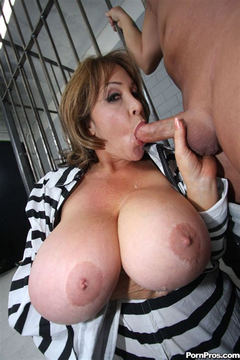Kandi Cox Busty Milf Prisoner Getting Her Ass Ripped Wide