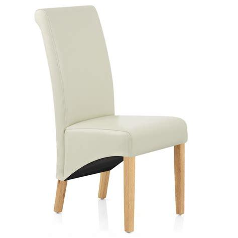 chaise chene chaise bois cuir croûté carlo chêne monde du tabouret