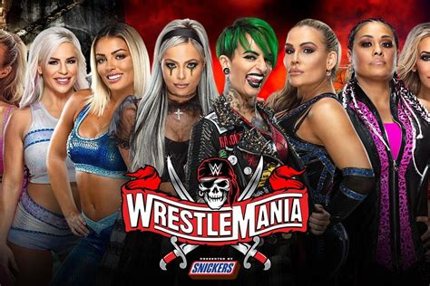 The women's tag team titles are booked for WrestleMania 37 ...