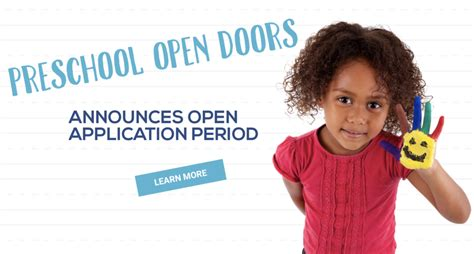 preschool open doors additional application period begins 790 | Screen Shot 2018 05 02 at 11.38.52 AM 1024x549